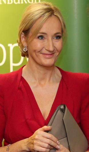 J.K. Rowling attends the opening of The Anne Rowling Regenerative Neurology Clinic on Oct. 8, 2013 at Edinburgh University in Edinburgh, U.K. Credit: Courtesy of TNS