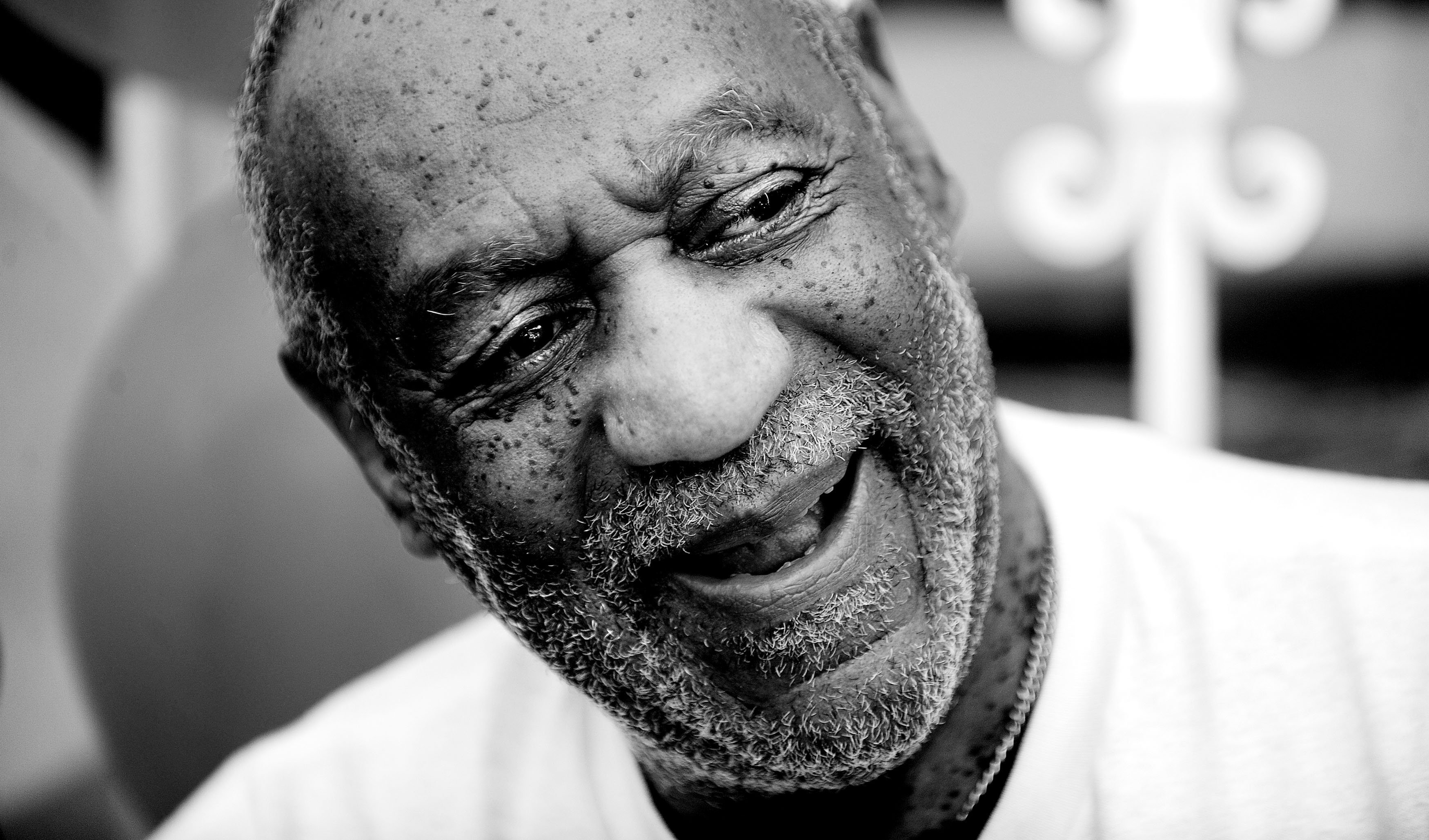 Comedian Bill Cosby speaks during the celebration of the 55th anniversary of a Washington institution Ben's Chili Bowl on August 22, 2013 in Washington, DC.  Credit: Courtesy of TNS.