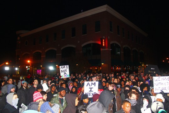 Columbus protesters respond to Ferguson decision, demand change from Columbus police