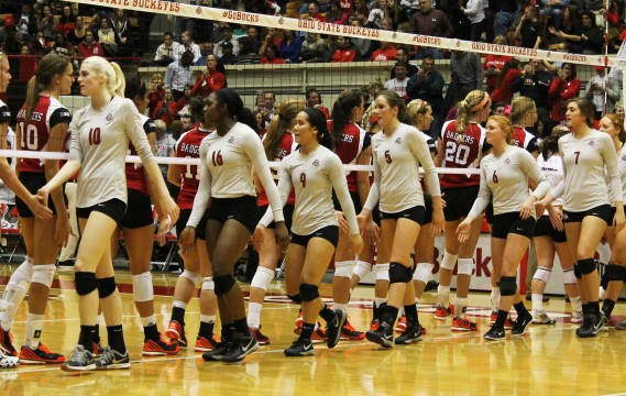 Ohio State women's volleyball falls to No. 2 Wisconsin