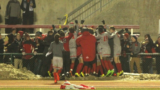 Ohio State men's soccer advances to NCAA Tournament 2nd round after PK thriller