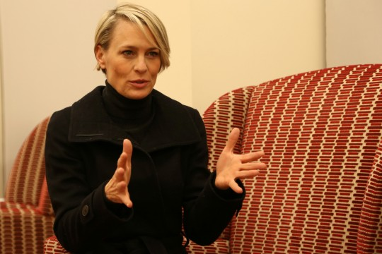 Robin Wright: 'There's always another pinnacle to strive for'