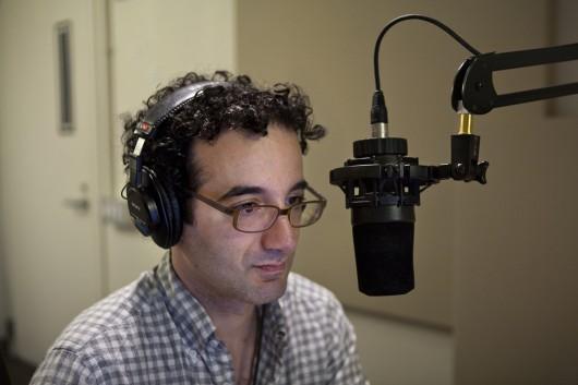 Jad Abumrad of NPR's Radiolab spoke to OSU Nov. 24 in an OUAB-sponsored event. Credit: Courtesy of the MacArthur Foundation