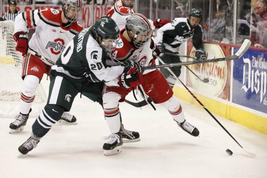 Ohio State men's hockey falls 3-1 in Big Ten opener