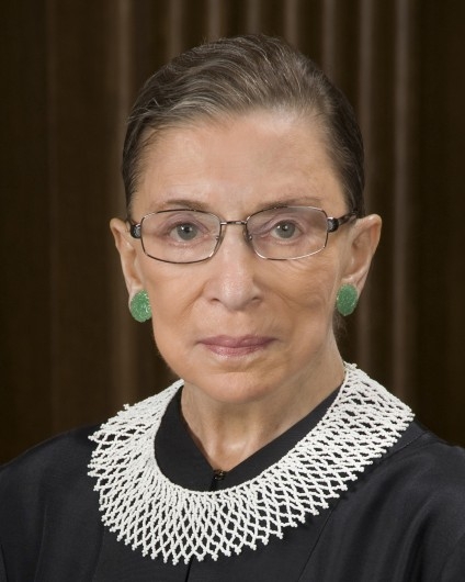 Credit: The United States Supreme Court Ruth Bader Ginsburg, associate justice of the U.S. Supreme Court