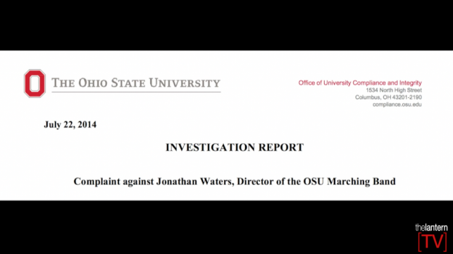 The Scarlet Scoop: Results released from 2nd investigation into OSU Marching Band