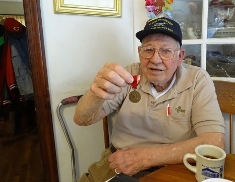 A moment from WWII still rings strongly for alumnus 'Doc' Allen 70 years later
