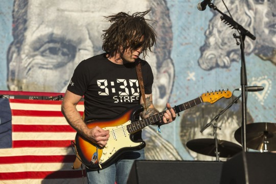 Ryan Adams performs at the Hardly Strictly Bluegrass Festival in Golden Gate Park, San Francisco, Calif., on October 3. Credit: Courtesd