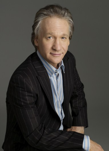 Comedian Bill Maher, host of HBO's 'Real Time with Bill Maher,' is set to perform on Nov. 9 at the Palace Theatre. Credit: Courtesy of HBO