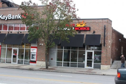 Blaze Fast Fire'd Pizza is set to be located at 1708 N. High St., where Red Robin's Burger Works previously occupied. Credit: Alex Drummer / Oller reporter