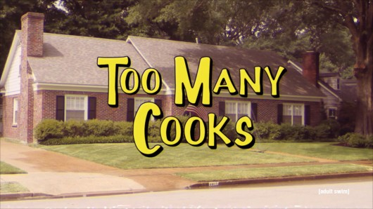 The title sequence of 'Too Many Cooks,' an Adult Swim 11-minute short that has gone viral because of its strange and eccentric storyline Credit: Screenshot of 'Too Many Cooks'