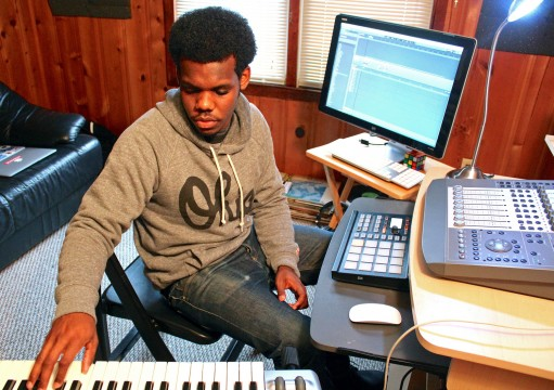 Local 20-year-old Jalen Ramsaw — who goes by Alexander Dreamer — is inspired by Jay Z, Kanye West and Michael Jackson. Credit: Courtesy of Jalin Ramsaw