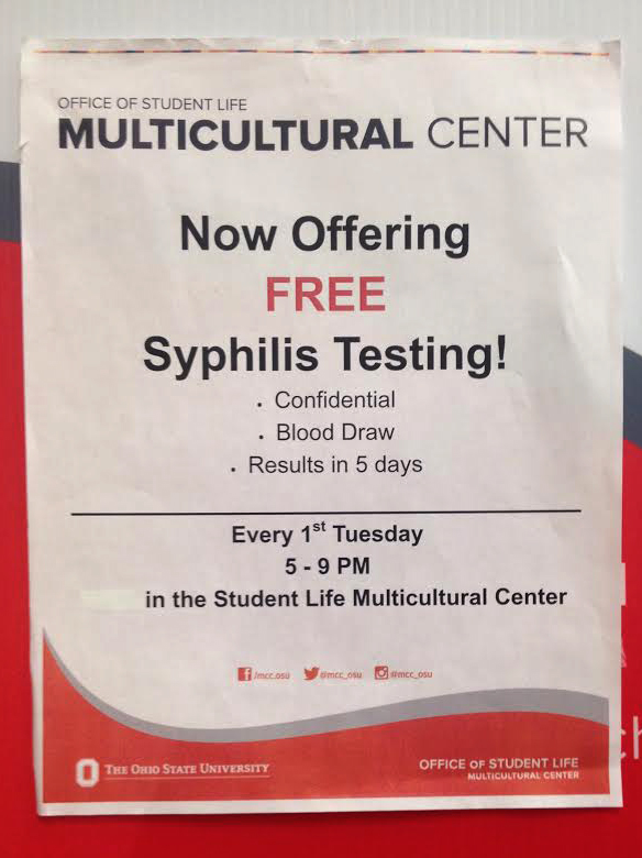 how to get tested for syphilis