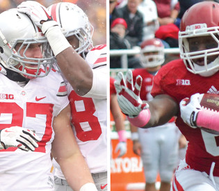 Ohio State set for 'ridiculous' rushing attack from Hoosiers' Tevin Coleman