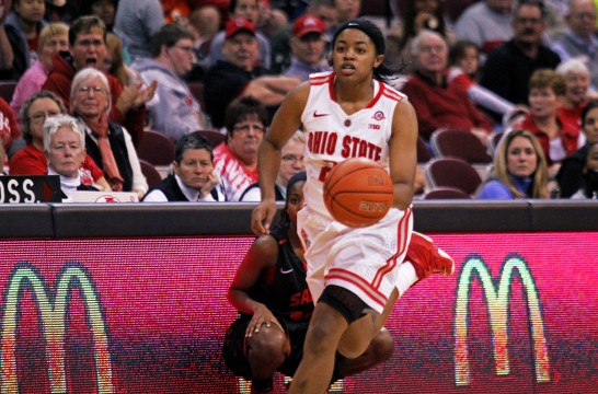 Ohio State women's basketball splits first 2 games of 2014-15 season