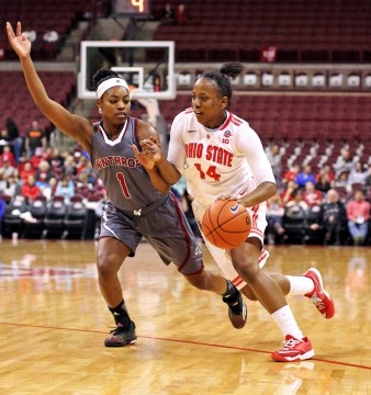 Second half surge propels Ohio State women's basketball to win over Winthrop, 66-52