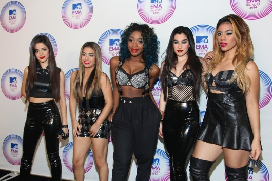 Members of Fifth Harmony  attend the 2014 MTV EMA Kick Off on Nov. 9. at the Klipsch Amphitheater in Miami, Fla.  Credit: Courtesy of TNS