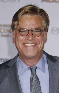 Aaron Sorkin at the premiere of Lionsgate's The 'Hunger Games: Mockingjay - Part 1' at the Nokia Theatre L.A. Live in Los Angeles, California. November 17, 2014. Credit: Courtesy of TNS