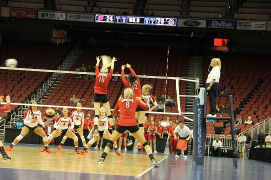 Ohio State women's volleyball NCAA Tournament run comes to an end against Wisconsin