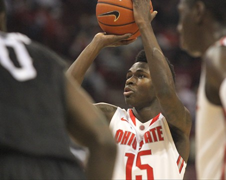 Kam Williams' career-high point output leads Ohio State to 97-43 win over High Point