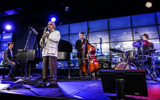 The Lee Konitz Quartet is set to perform Dec. 5 at the Wexner Center for the Arts. Credit: Courtesy of Lee Konitz Quartet