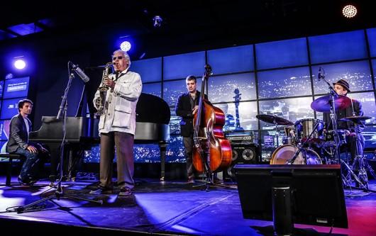 The Lee Konitz Quartet is set to perform Dec. 5 at the Wexner Center for the Arts. Credit: Courtesy of Lee Konitz Quartet
