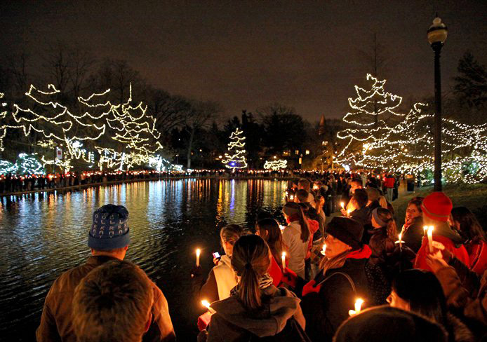 Ohio Staters To Celebrate Light Up The Lake For The 10th