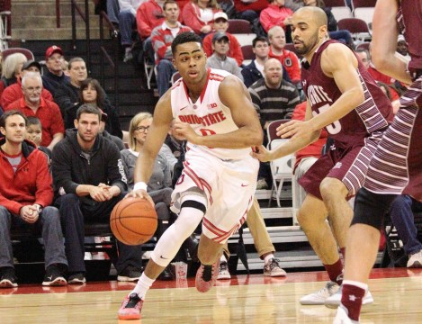 Ohio State men's basketball picks up 20-point win against Colgate