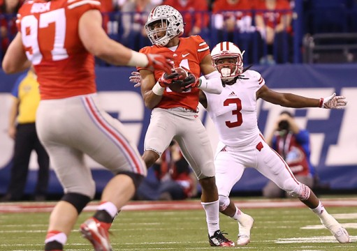 Ohio State's Vonn Bell chose a longer trip, but ended up on the same path