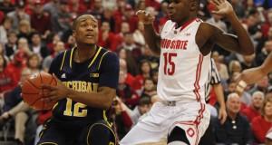 Men's Basketball vs. Michigan