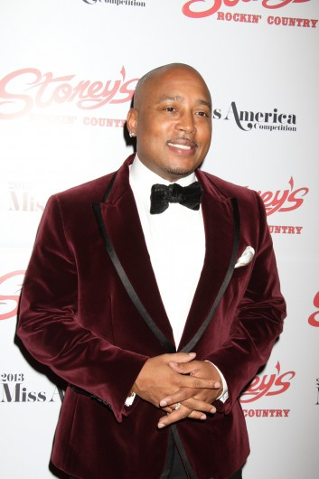 Daymond John attends the 2013 Miss America Judges Official After Party at Stoney's Rockin' Country, Town Square in Las Vegas on Jan. 12, 2013. Credit: Courtesy of TNS