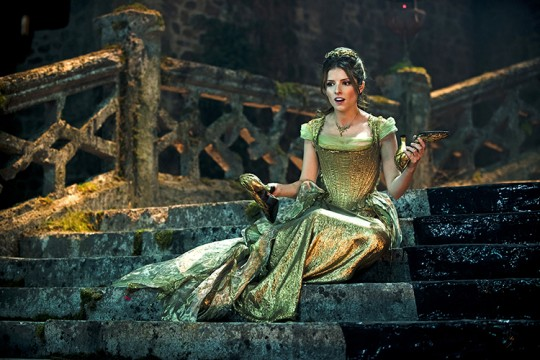 Anna Kendrick plays Cinderella in Disney's 'Into the Woods.' The movie opened Christmas Day.  Credit: Courtesy of Walt Disney Studios.