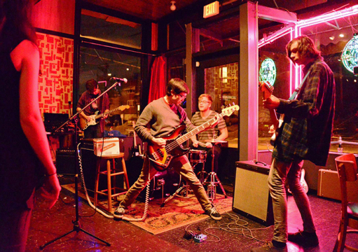 Columbus band Nude Art performs at the Comet.  Credit: Courtesy of Margaret Kessler