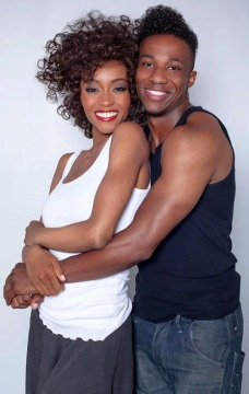 Yaya DaCosta and Arlen Escarpeta star as Whitney Houston and Bobby Brown Courtsey of Zack Zeman