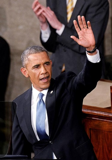 President Barack Obama delivers the State of The Union address on Tuesday in the House Chamber of the U.S. Capitol in Washington, D.C. Credit: Courtesy of TNS