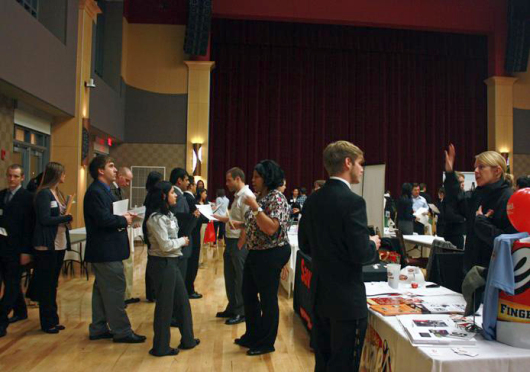 As the first 2015 Summer Internship and Opportunity Fair is scheduled for Jan. 28 in the Archie Griffin Ballroom in the Ohio Union. Credit: Lantern file photo