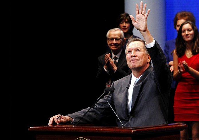 Kasich expected to announce campaign kickoff at Ohio Union