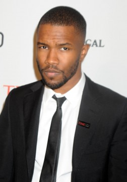 Singer Frank Ocean surprised the hip-hop community when he came out as gay in 2012. Credit: Courtesy of TNS.