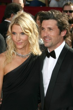 Patrick and Jill Dempsey announced their divorce in January.  Credit: Courtesy of TNS.
