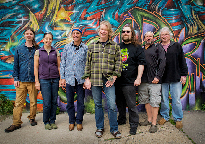 The Dark Star Orchestra, a Grateful Dead cover band, is set to perform at the Newport Friday. Credit: Courtesy of Dave Obenour.