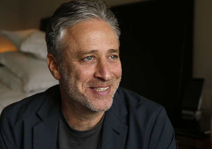 Writer-director Jon Stewart poses for a portrait on Oct. 24, 2014 in Chicago. Credit: Courtesy of TNS.