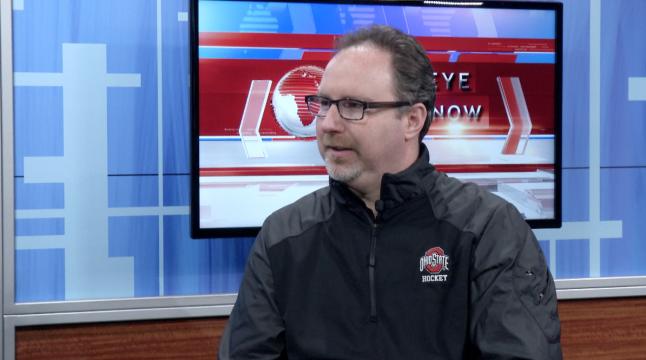 Former OSU women's hockey coach Nate Handrahan. Credit: Lantern TV