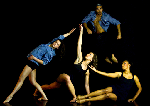 Four OSU students are producing a dance show at the Columbus Dance Theatre this weekend. Credit: Courtesy of Kimberly Isaacs