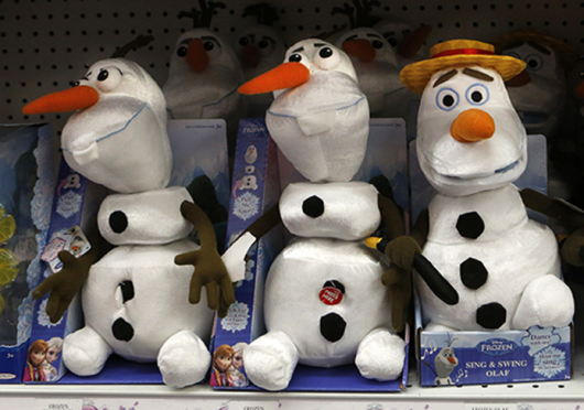 Disney announced Thursday morning that there would be a sequel to 'Frozen.' Credit: Courtesy of TNS