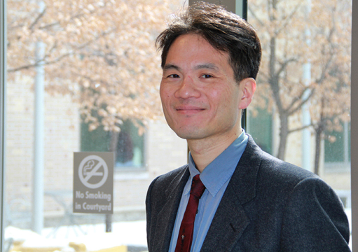 'Under Solomon's Throne: Uzbek Visions of Renewal in Osh,' a book published by Morgan Liu (pictured), an OSU professor in the department of Near Eastern Language and Cultures, is a culmination of over 16 years of work. Credit: Hailey Stangebye / Lantern reporter