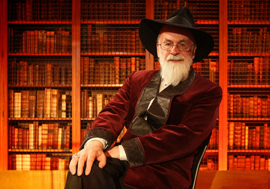 Terry Pratchett, author of XXX, died Thursday at his home. Credit: Courtesy of TNS