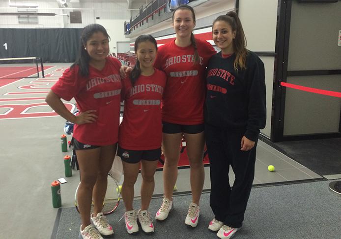International Recruiting An Asset For Ohio State Women S Tennis