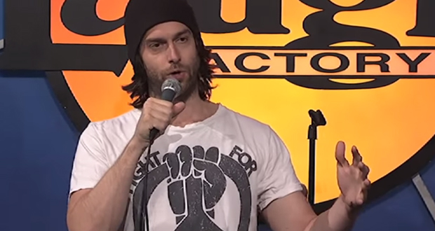 Chris D'Elia performs at the Laugh Factory in Los Angeles. Credit: Laugh Factory