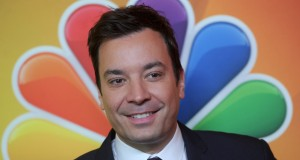 Jimmy Fallon attends the 2014 NBC Upfront Presentation at The Jacob K. Javits Convention Center in New York City on May 12, 2014.
