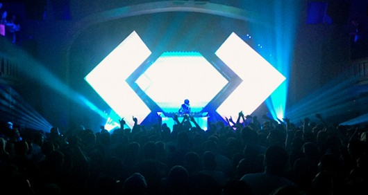 Madeon, an electronic music producer, performed at The Bluestone  on April 29. Credit: Elizabeth Tzagournis / Lantern Reporter